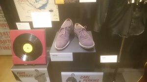Carl Perkins's Blue Suede Shoes