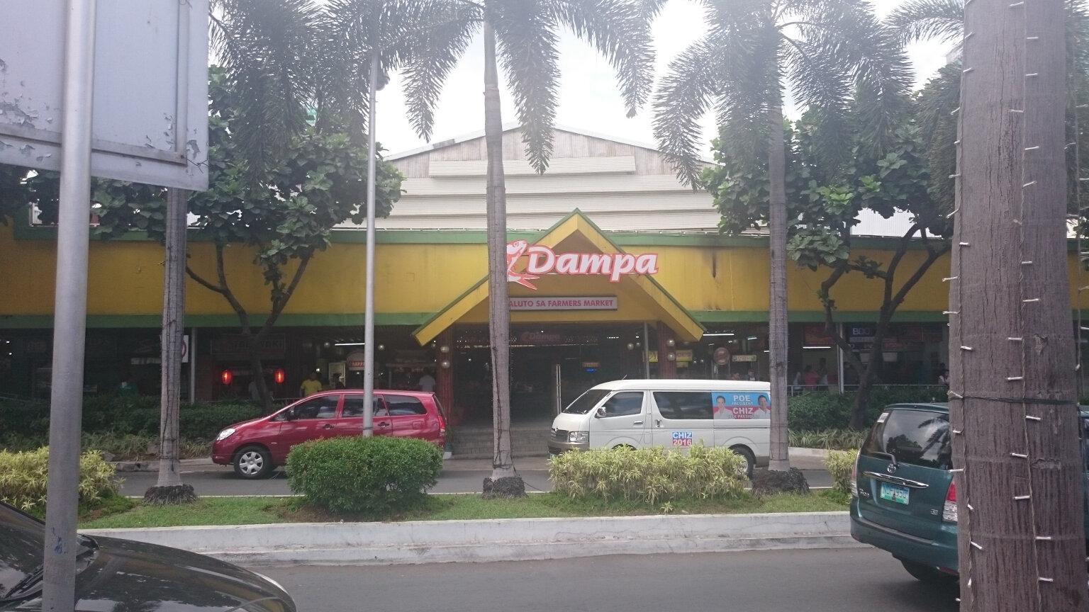 Dampo Wet Market, Quezon Manila