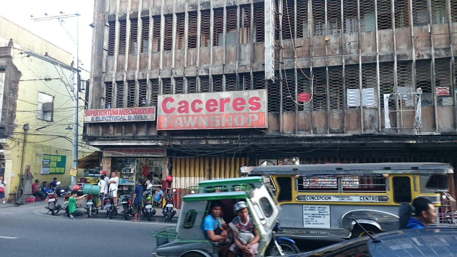 Naga City Street Corner
