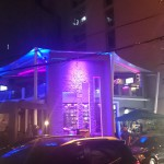 Night time view, Alcemy bar, Makati Manila