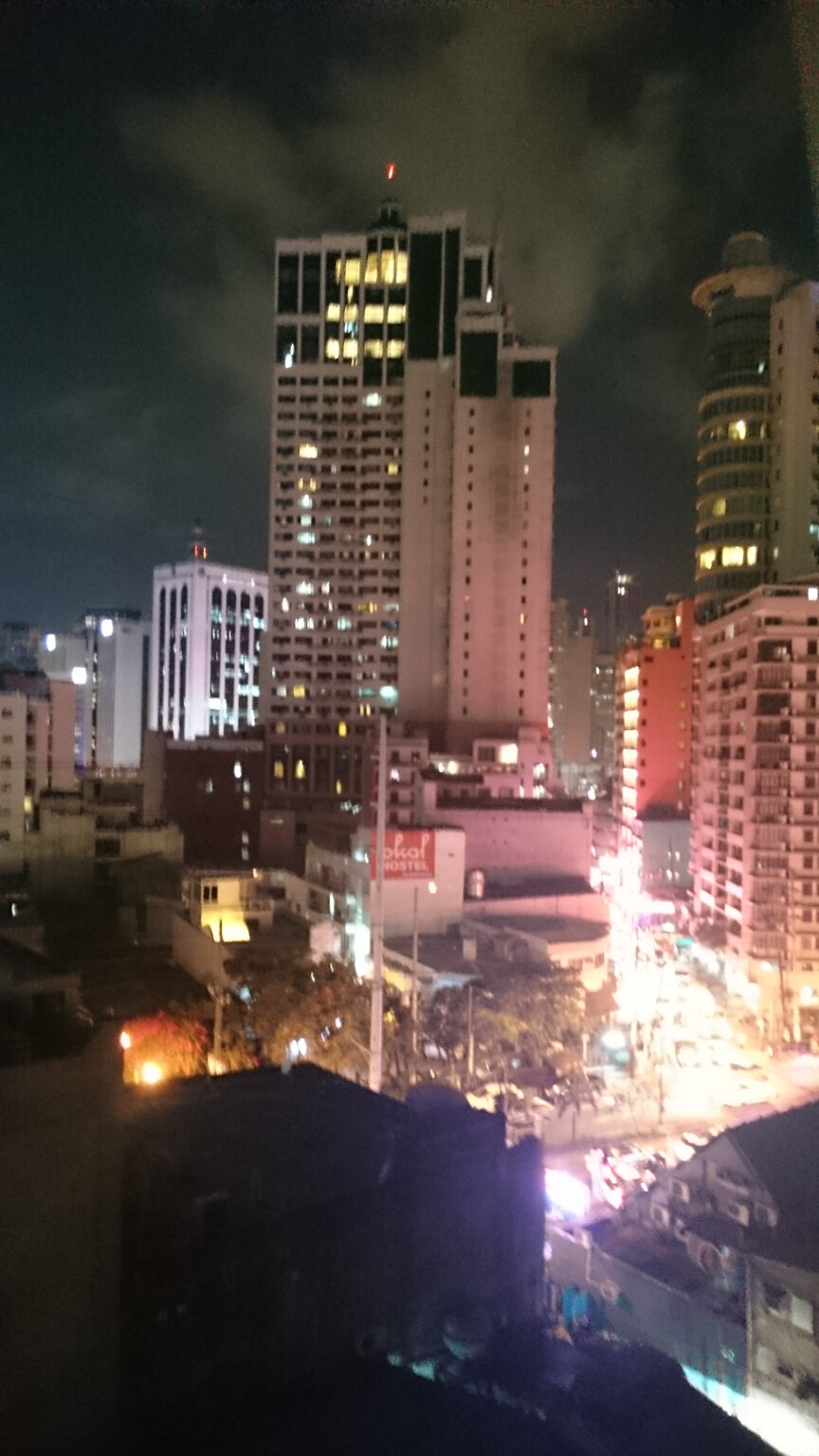View from Z Hostel Rofftop, Makati Manila (2)