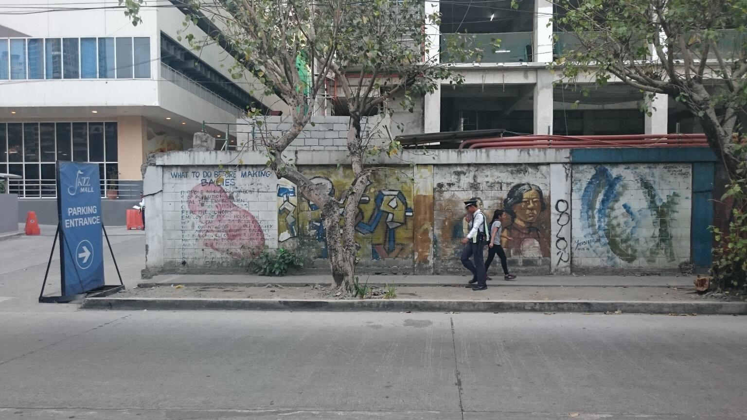 Wall Mural, Makati Manila