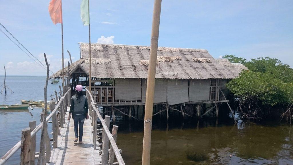 Lamanoc island Boat house
