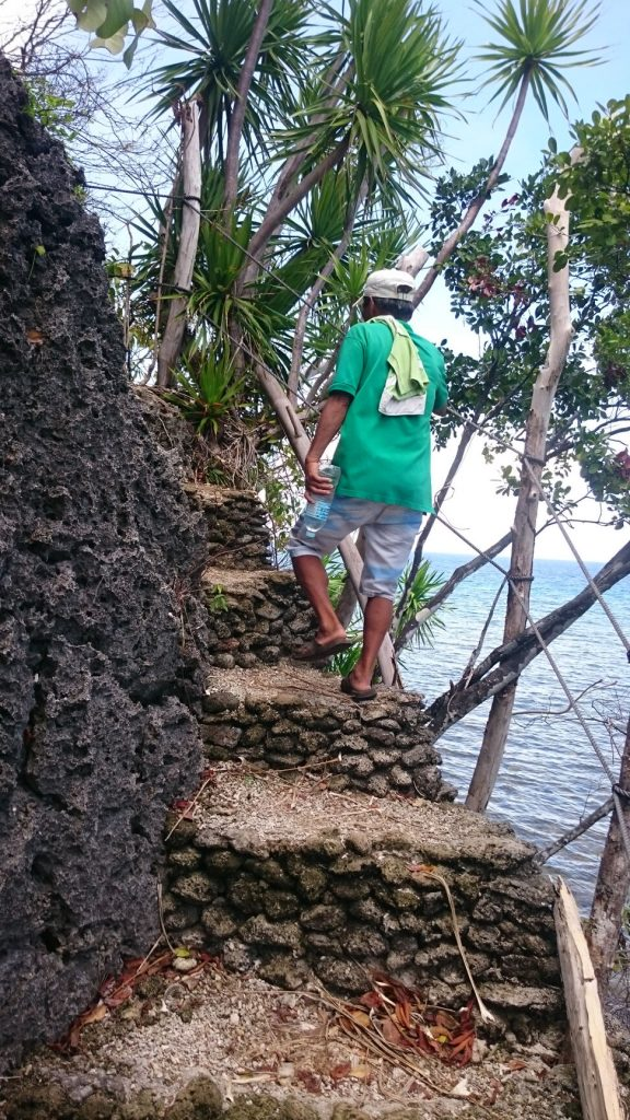 lamanoc island guide stairs