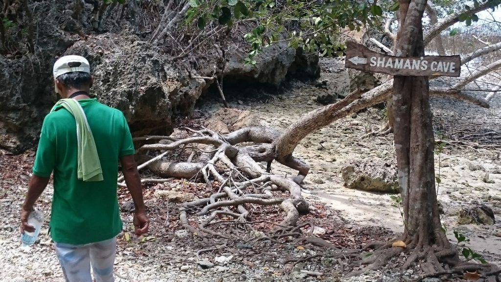 lamanoc island road to shamans cave