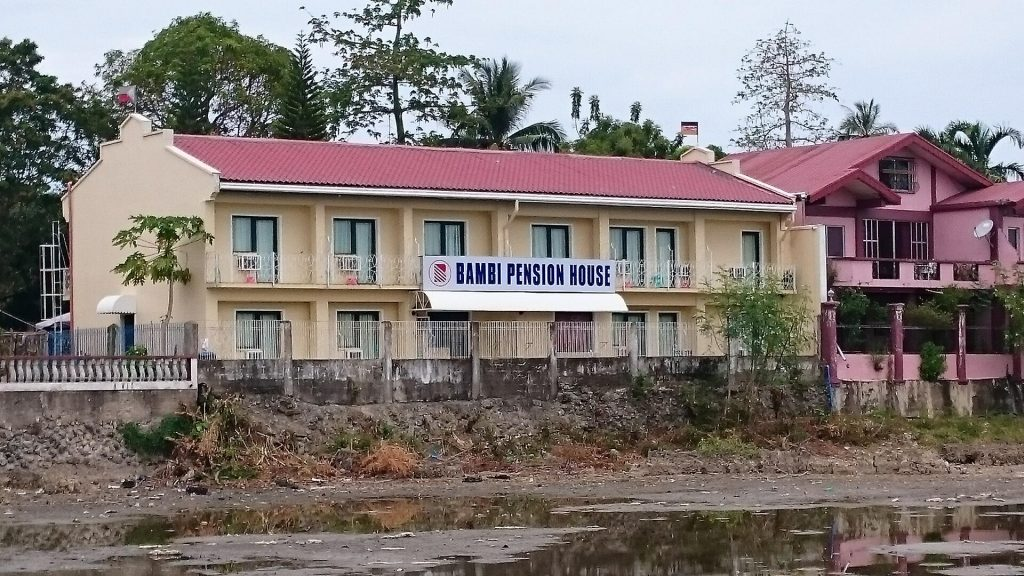Masbate City Bambi Pension House.