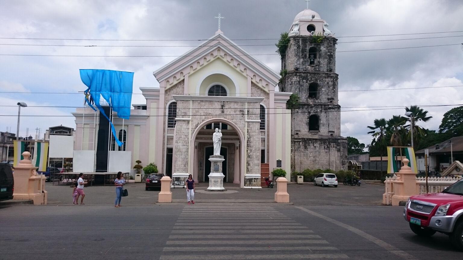 Tagbilaran plaza The Cathedral of Saint Joseph the Worker