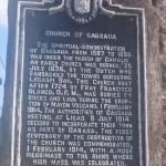 Cagsawa Ruins Information Plaque