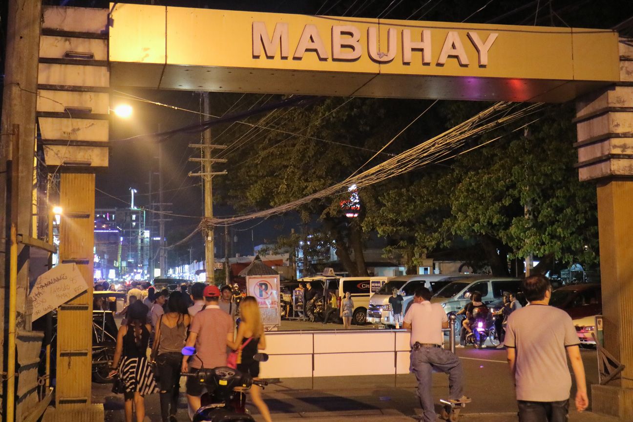 Angeles City Walking street mabuhay gate