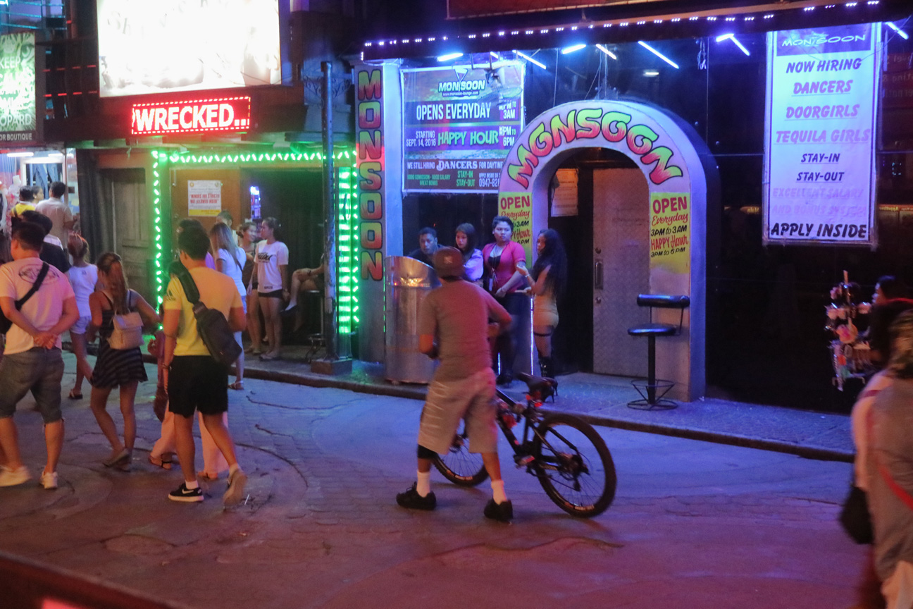 Angeles City Walking street bicycle